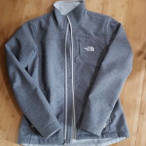 Womans Small Grey The North Face Winter Coat